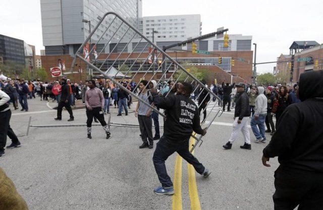 Baltimore riots. (File photo)