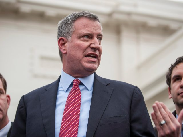 Mayor Bill de Blasio (File photo)