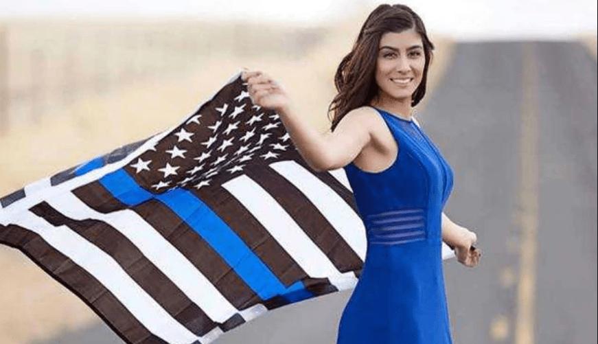 Fallen Davis (CA) Officer Natalie Corona was an inspiration for Trinity.