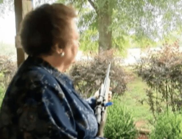 gun-wielding grandmother