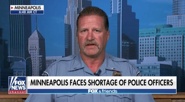 Minneapolis police lieutenant