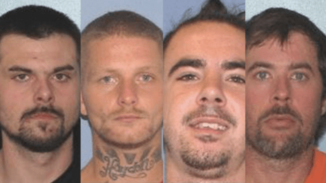 four inmates