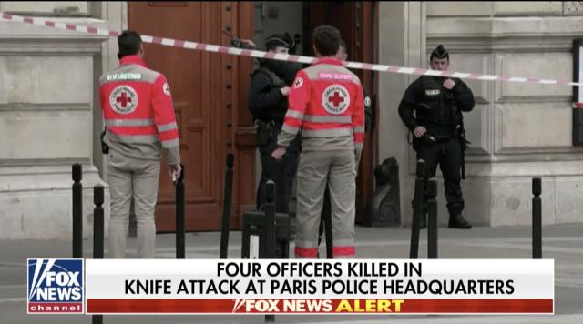 Paris police headquarters