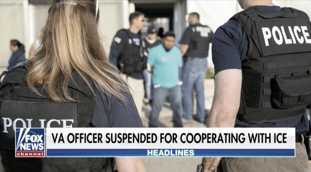 Virginia police officer