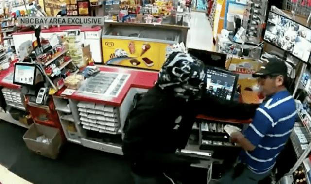 pistol-whipped