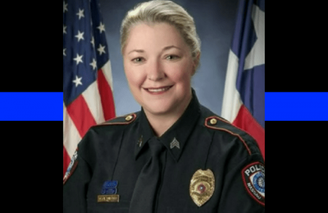Texas police sergeant