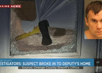 ax-wielding suspect