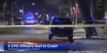 Chicago cops hospitalized