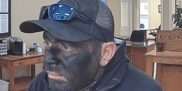 Black Face Bandit
