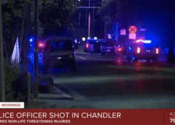 Arizona officers shot