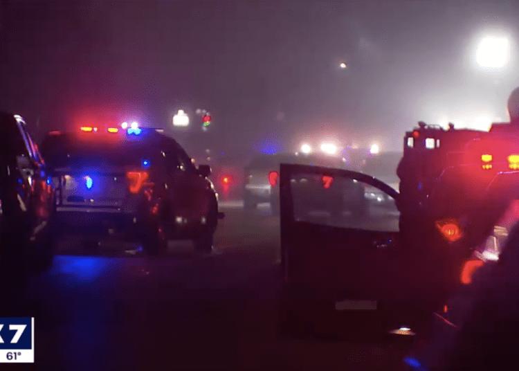 Texas officers ambushed