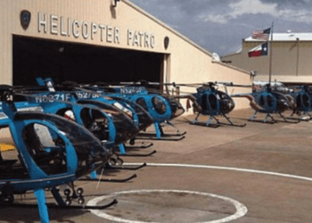 Houston police helicopter