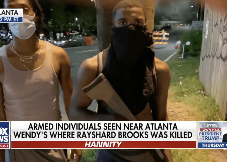 Armed Atlanta Protesters