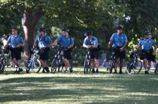 Exodus begins at Minneapolis Police Department
