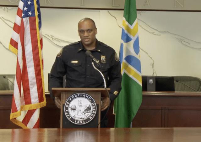 Portland chief