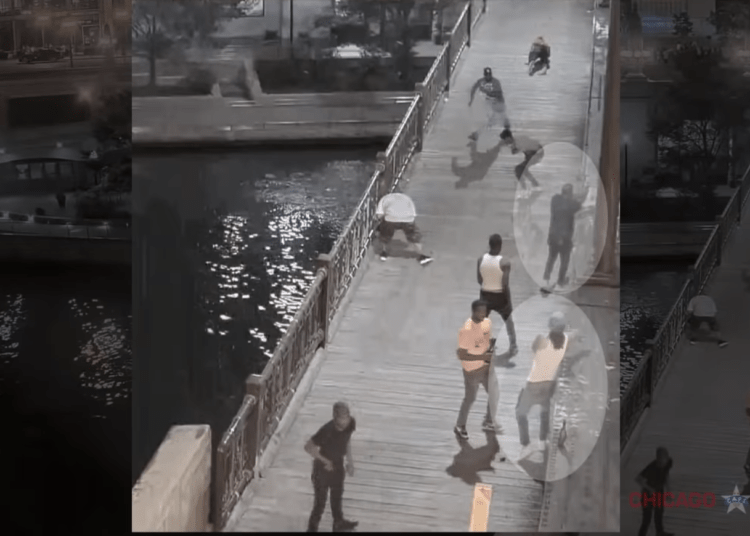 Chicago police release video