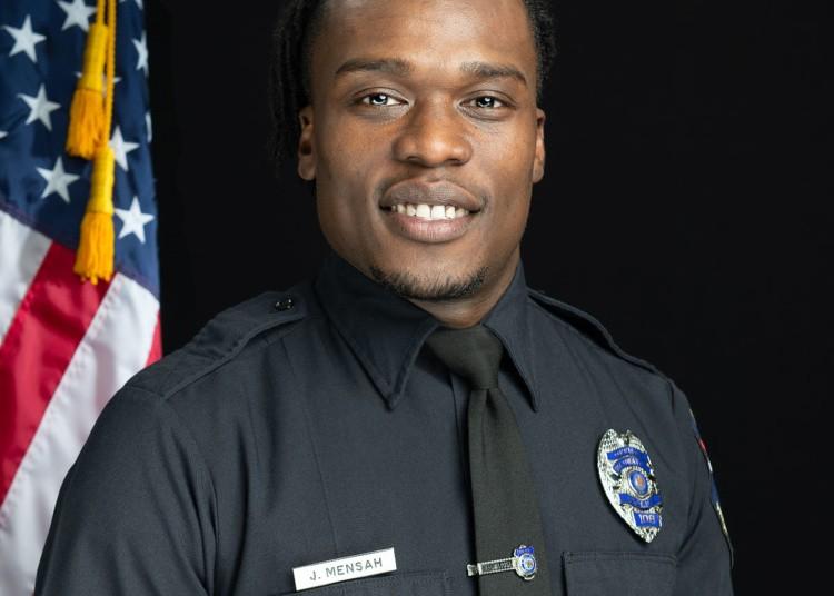 Officer Joseph Mensah