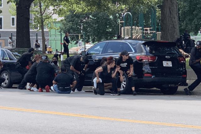 "Dueling Armed Militias Congregate in Louisville"""