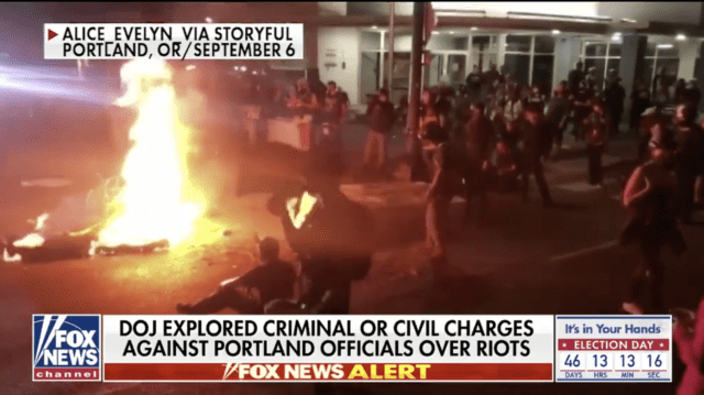 DOJ Officially Designates NYC, Portland, Seattle As Violent Anarchy Zones