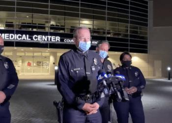 LAPD officer disarmed