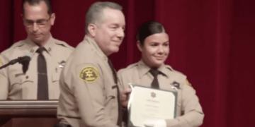 heroic LASD deputy