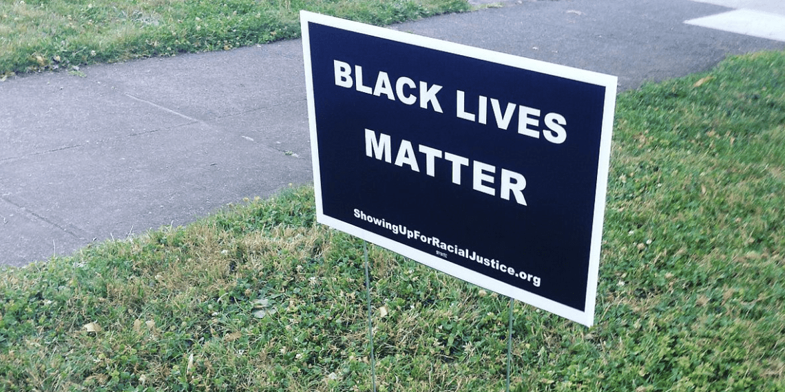 BLM sign