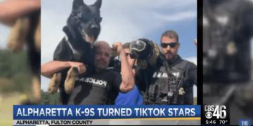 Georgia K9 handlers