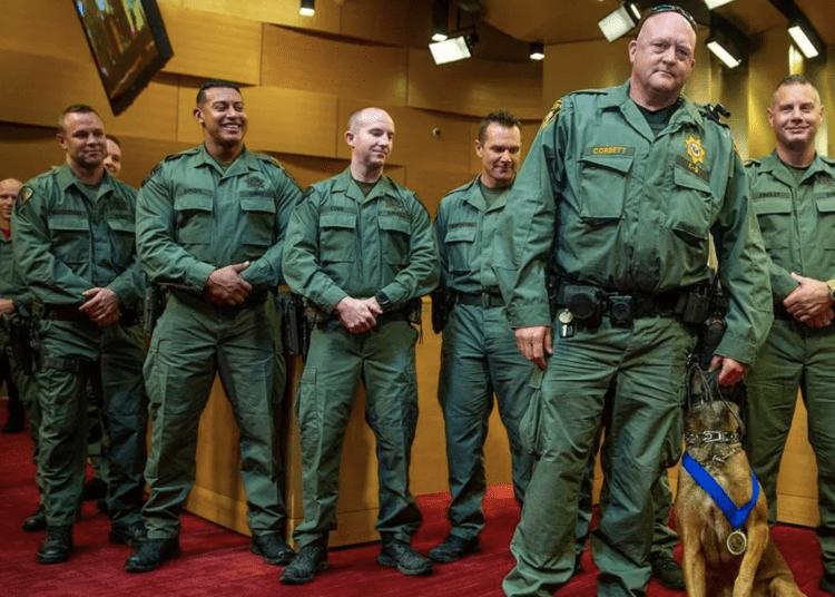 Las Vegas K9 handlers