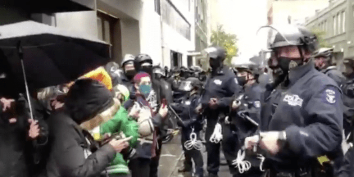 NYPD clashes
