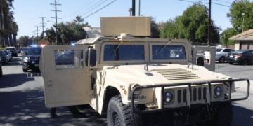 stolen Humvee