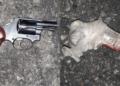 gun-toting carjacker