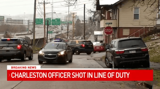 Charleston officer shot