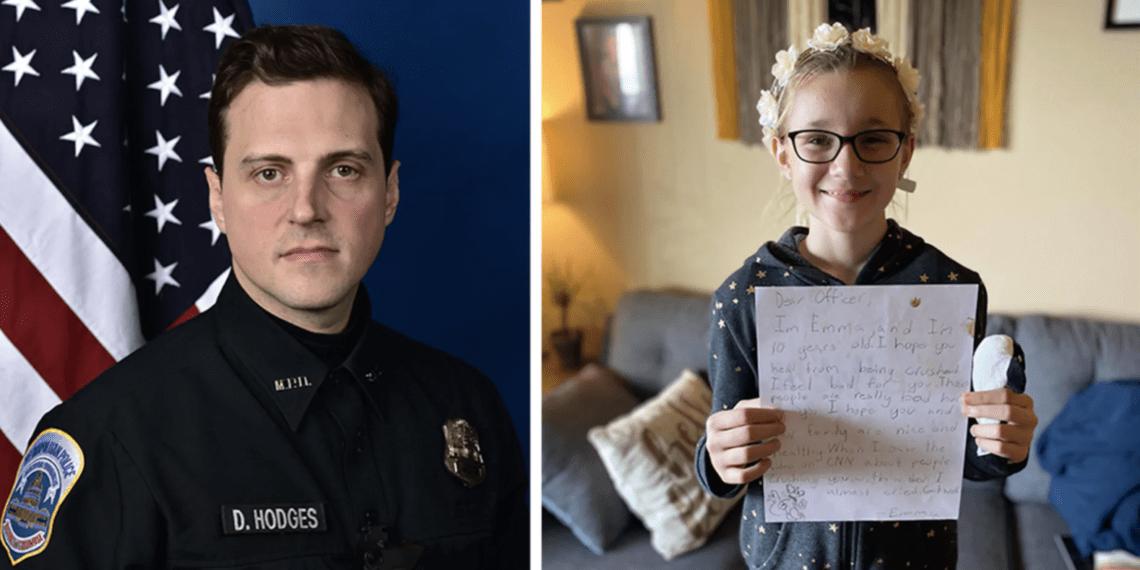 police officer crushed
