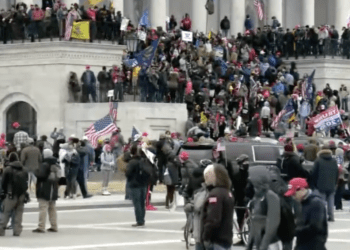 protesters storm capitol