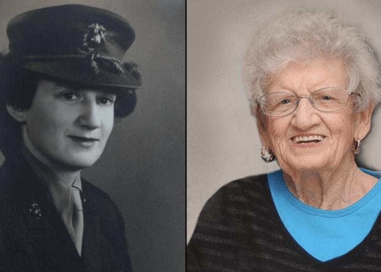 Oldest living Marine