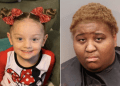 Ariel Robinson, right, has been charged in the death of her adopted child Victoria Rose Smith. (Instagram; Simpsonville Police Department)