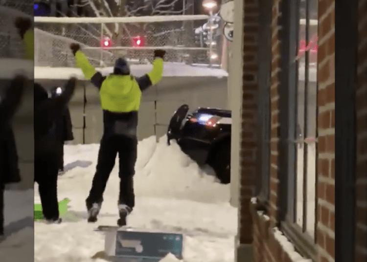 snow barrier