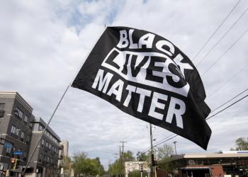 BLM flags