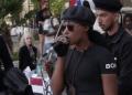 BLM activist