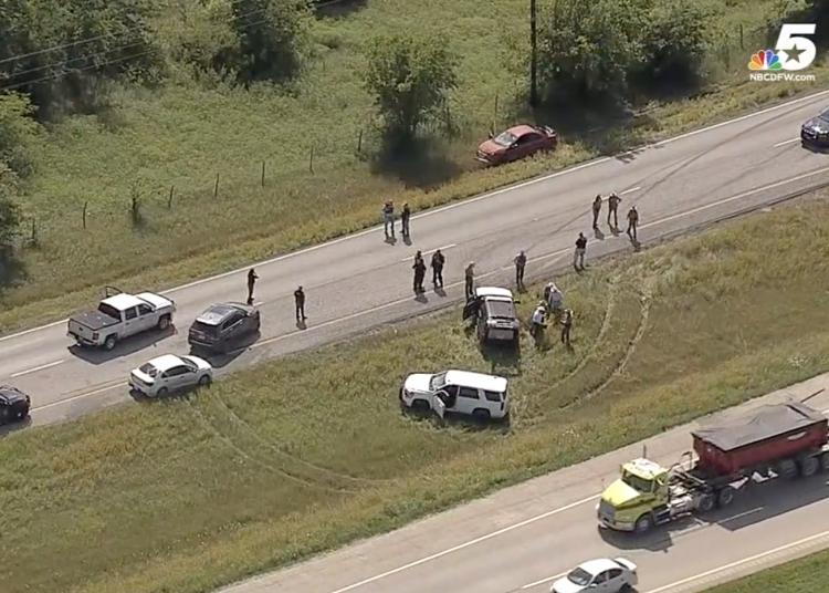 Texas constable shot