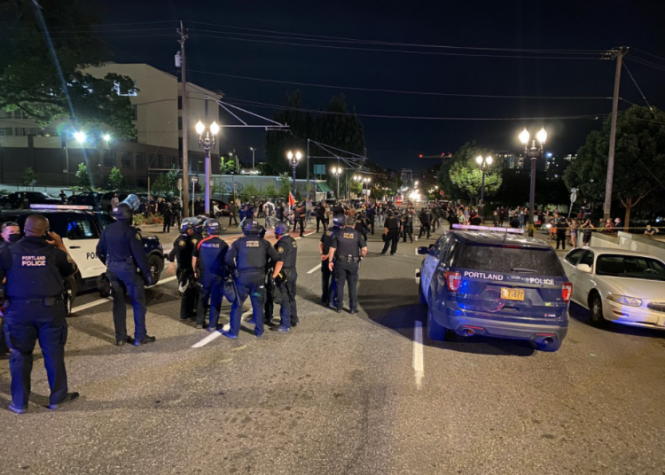 Portland mob