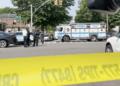 Police shoot husband